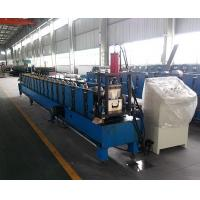 Quality Prepainted Steel Square Profile Gutter Roll Forming Machine Thickness 0.4-0.7 mm for sale