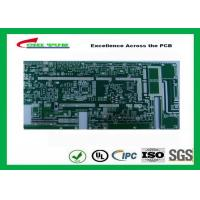 Quality Taconicrf Green Solder Mask Double Side PCB 0.75mm Lead Free HASL DK3.5 DF0.0025 for sale