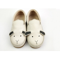 pigskin Lining EUR21-31 Real Leather Sneaker Shoes For Girls Boys