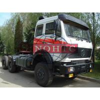 Quality 40 - 80 Tons Tractor Head Trucks NG Cab 4 Point Full Floating Air Suspension for sale