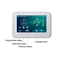 Buy 4.3 Inch Big Screen Digital Fan Coil Thermostat Electric Heating Controller at wholesale prices
