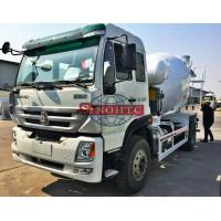 Quality Brand New Concrete Transport Truck WD615 STR Engine 8m3 Cement Mixer Truck for sale