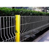 Security Triangle Bending  Fence / Folded Mesh Fencing For Outdoor / Road Fence