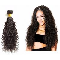 China Bouncy Bulk Human Hair Extensions Without Any Chemical Treated For Women on sale