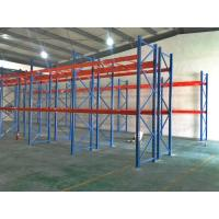 Roll Formed Selective Pallet Racking For Warehouses , Heavy Duty Pallet Racking System