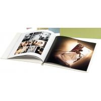 Best 250gsm Art Paper Cover Professional Photo Book Printing , Gloss Lamination / Silver Foil Hot Stamping wholesale