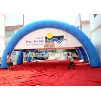 Quality Sealed Air Advertising Inflatable Airtight Tent PVC Sport Spider Tent Water Resistance for sale