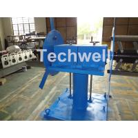 Buy Accessories Of Cold Roll Forming Machine , Manual Double Head Hydraulic Uncoiler at wholesale prices