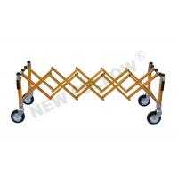 Quality Aluminum Alloy Telescopic Funeral Trolley With Wheel For Church for sale