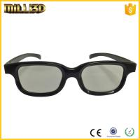Cheap factory passive circular/linear polarized 3d glasses for cinema for sale