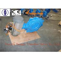 Quality Double Flanged Electric Butterfly Valve Manual Operated With Disc Ductile Iron for sale