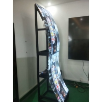 Quality 1920x1080 400cd/m2 3mm OLED Screen Digital Signage Kiosk for sale