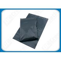 China Recycled Polythene Envelopes Grey Mail Bags , Opaque Plastic Mailing Bags For Post Offices on sale