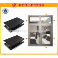 Quality 2003 Aluminum Window Profiles / Aluminum Window Frame Profiles ISO 9001 Approved for sale