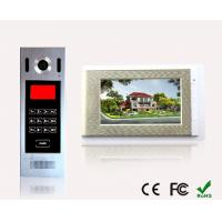 Quality China Best Building Touch Screen Wires Video door phone Remotely unlock Multi apartment  Smart home for sale