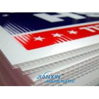 Quality Hot Sale /Cheap Corrugated Plastic Sign Blanks/Correx UV Printing Advertising Sheets for sale