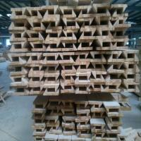 Quality Anti Aging Wood Window Molding , Customized Length Wood Window Casing for sale