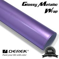Glossy Metallic Car Wrapping Film - Glossy Metallic Light Purple