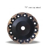 "Quality JWT Diamond Cup Wheel with ""T"" Grinding Cup Wheel for sale"