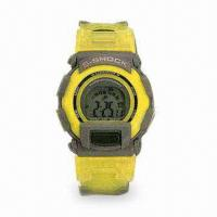 Quality Chronograph LCD Alarm Watch with EL Backlight for sale