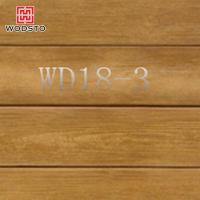 high strength wood plastic synthetic decking WD18-3