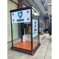 Quality Automatic Door-type IR infrared fever screening warning disinfection system for sale