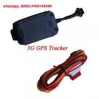 China 3G GPS Tracker support WCDMA 900MHZ 2100MHZ 3G GPS Vehicle Motorbike Tracking Units on sale