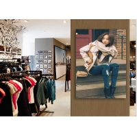 Buy cheap black color wall mounted video digital signage 1.8mm Narrow Bezel 55 Inch LCD from wholesalers