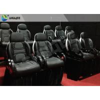 Quality 12-40 People 9D Movie Theater 9D Cinema Equipment With Electric System for sale
