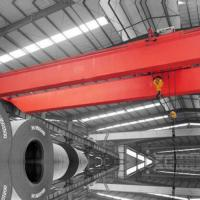 China 20 T 22m Electric Double Hoist Overhead Crane High Performance Easy Maintenance on sale