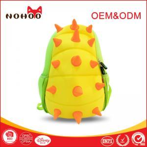 Quality 3D Print Neoprene Toddler Backpack / Kids Animal Backpack BIG Capacity for sale