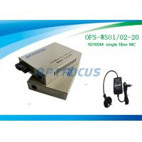 Quality Single Ethernet  128K 10 / 100M Video Media Converter IEEE802.3xIEEE802.3x for sale