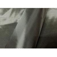 Quality Grey Jacket Twill Lining Fabric , Lightweight Twill Fabric Raw Material for sale