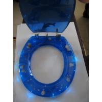LED poly-resin toilet seat cover,RESIN toilet seat,tranparent toilet seat,sanitary ware