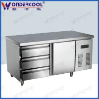 Quality 201/304stainless steel commercial sandwich salad drawer freezer fridge refrigerator for sale