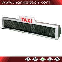 16x128 Taxi Top LED Scrolling Display Sign
