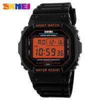 Buy cheap Promotion Electronic Kids Sport Watches ABS Plastic Orange Nickel Free from wholesalers