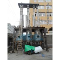 Quality Efficient Water Evaporation Triple Effect Falling Film Thermal Evaporator for sale