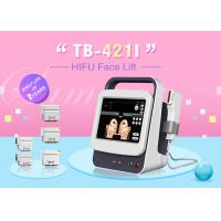Best Exact depth Five Heads Ultrasound HIFU Face Lifting Machine For Wrinkle Removal wholesale