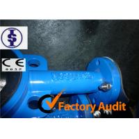 Buy DI CI WCB SS Pneumatic Butterfly Valve With Hand Lever Or Worm Wheel Operator at wholesale prices