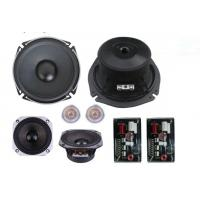 Best Car Speaker 6.5'' Speaker ComponentNor Power:80W Max Power:320W Magnet 15 oZ Voice Coil wholesale