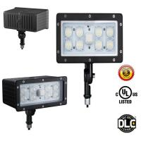 Quality AC100-277V 5 Years Warranty 45W Outdoor LED Flood Light LED Security UL DLC for sale