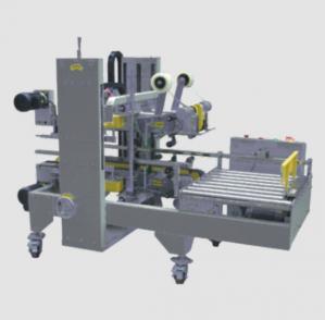 Quality Automatic Case Sealer Machine , L990 * W850 * H1350mm Edge Sealing Machine for sale