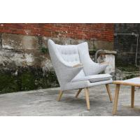Quality Modern Designer Furniture Wooden Frame Hans Wegner Papa Bear Chair for sale