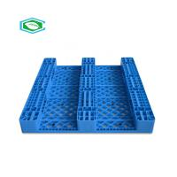 Quality HDPE Reinforced Plastic Pallets 3 Skid Runners Recycled Sturdy Construction for sale