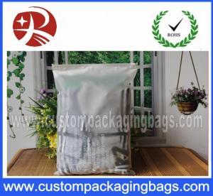 Quality T- Shirts Plastic Custom Packaging Bags / Ziplock Top  Folding Storage Bag for sale