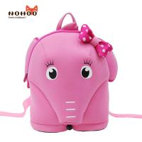 Quality 3D Cartoon elephant for kids todder boys girls backpack with strap for sale