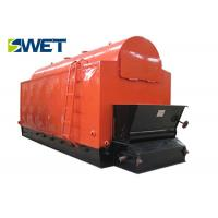 Quality Vertical Double Drum Wood Pellet Fired Steam Boiler83% Thermal Efficiency for sale