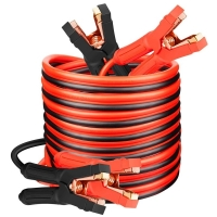 Quality Black Red Truck 800Amp Connecting Booster Cables Alliga Clamps for sale