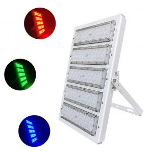 Quality CE Rohs Certification Meanwell Driver IP66 Aluminum DMX RGB LED Flood Lights For Outdoor Building Walls Color Decoration for sale